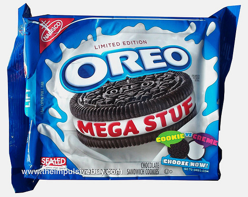 REVIEW: Nabisco Limited Edition Mega Stuf Oreo | The Impulsive Buy