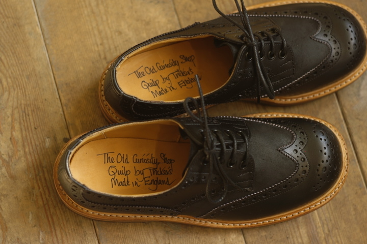 Quilp & (The Old Curiosity Shop x Quilp by Tricker's): MAPS(大阪・堺のセレクトショップ)の、新入荷商品紹介ブログ。
