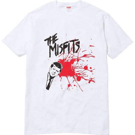 Supreme: Supreme/The Misfits® Bullet Tee - White