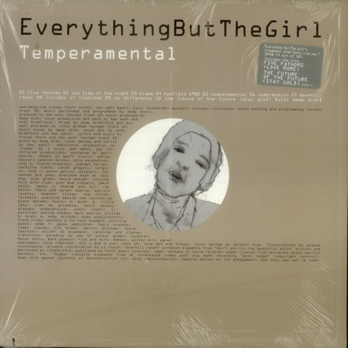 Everything But The Girl Temperamental USA 2-LP vinyl record set (Double Album) (548713)