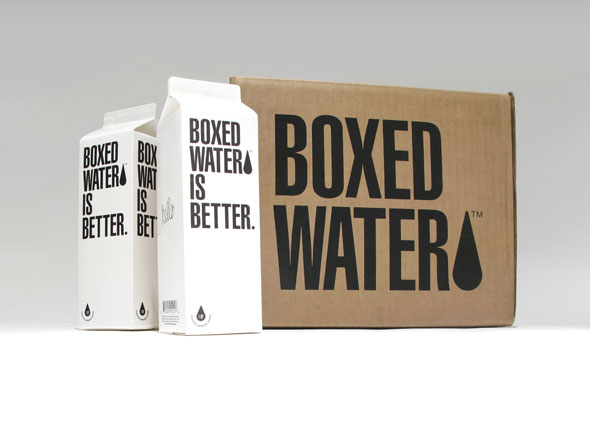 BOXED WATER. « stapledesign.com