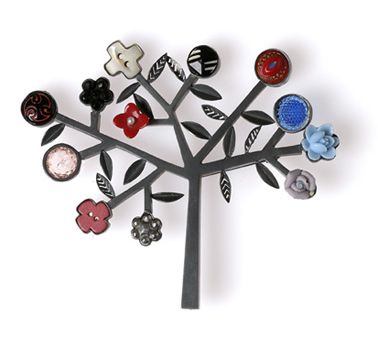 Grainne Morton :: Contemporary Jewellery :: Tree Brooch