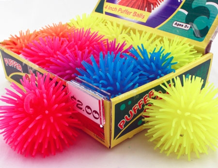 "Novelties :: Puffer Ball - 4"" - The Stuff Shop - Wholesale Redemption Toys, Candy & Party Goods"