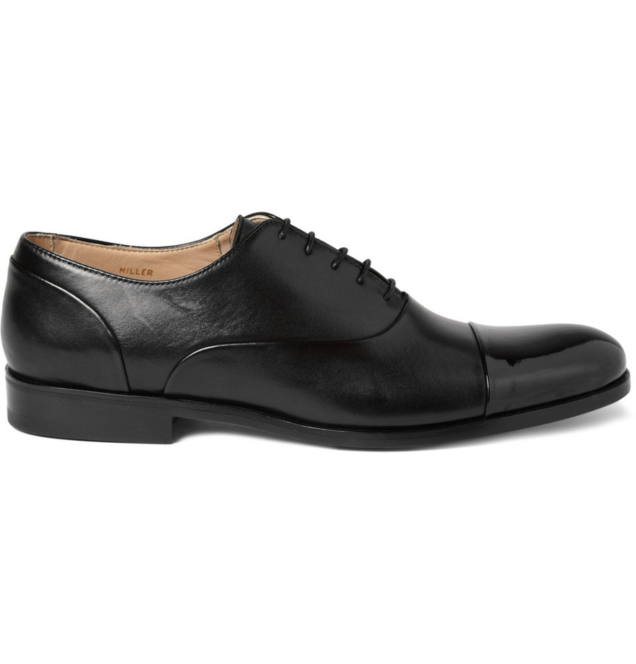 Mr. Hare Miller Patent Toe Cap Shoes | MR PORTER