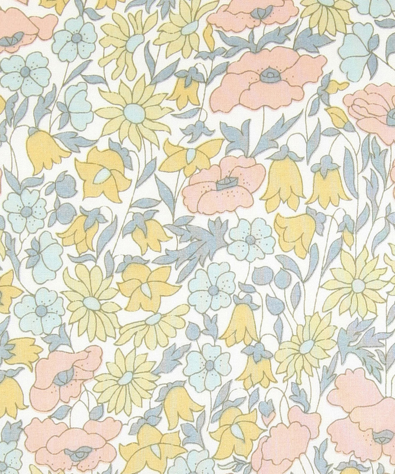 Poppy and Daisy H Tana Lawn, Liberty Art Fabrics. Shop our extensive range of Liberty Print Fabrics now at Liberty.co.uk