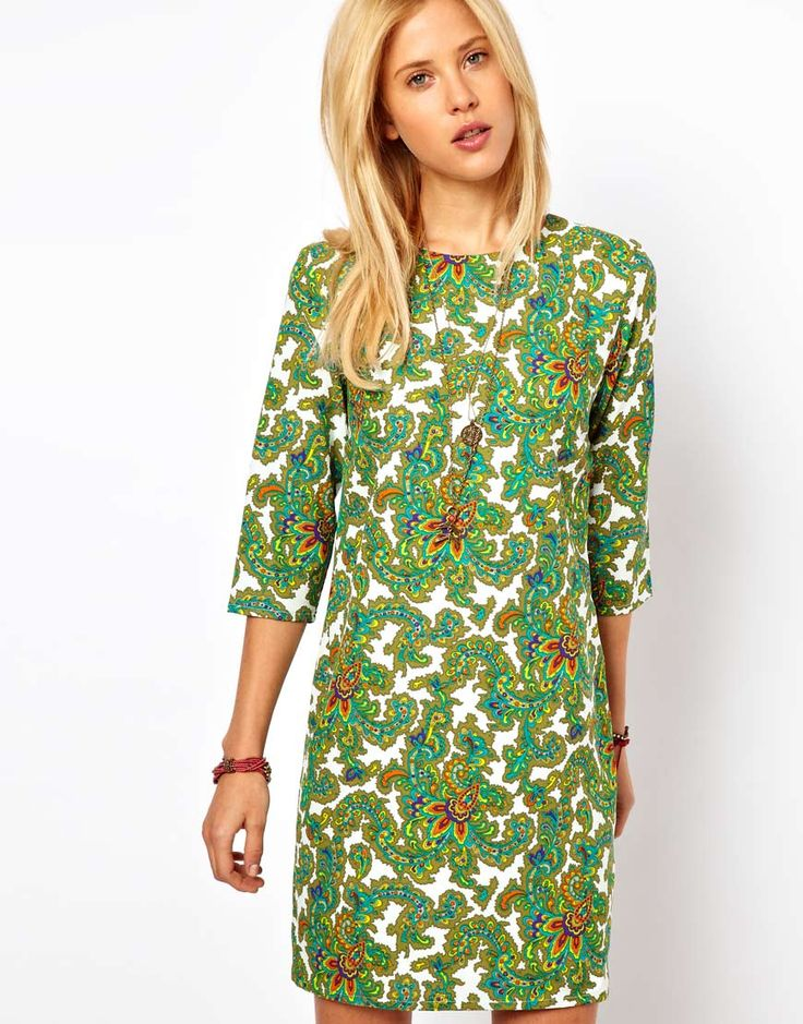Shift Dress In Paisley Print | My Style
