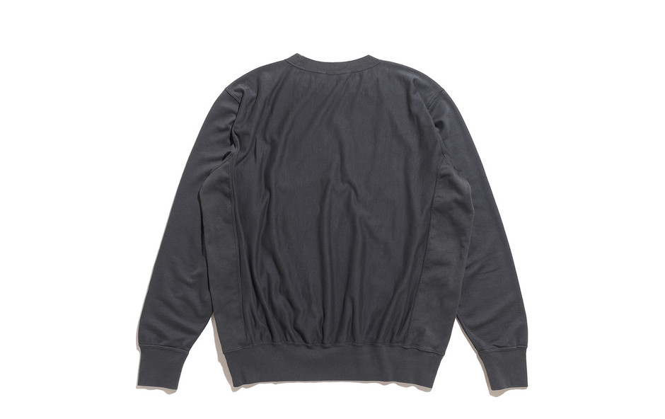 Super High Gauge Sweat Big P/O-Ink Black