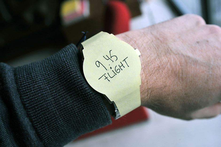 Post-it watches ? Boing Boing