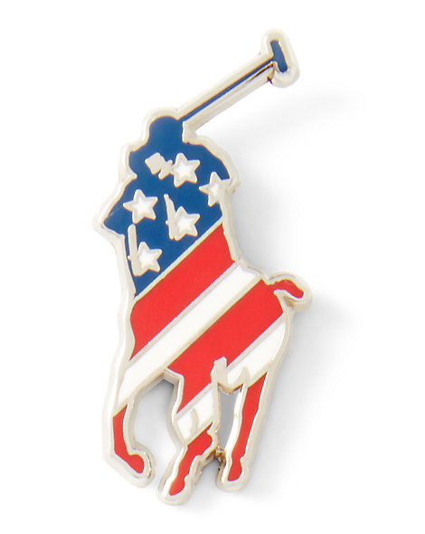 Team USA Pony Small Pin - Small Accessories  Wallets & Small Accessories - RalphLauren.com