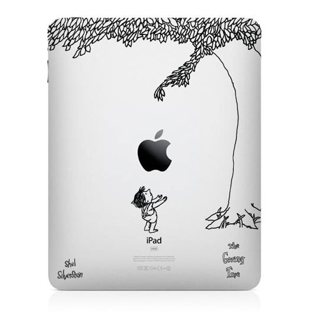 Giving Tree iPad Decal » Geeky Gadgets
