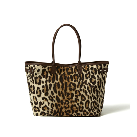 TOTE BAG (M)|LEOPARD|HEADPORTER OFFICIAL ONLINE STORE|ヘッドポーター オンラインストア