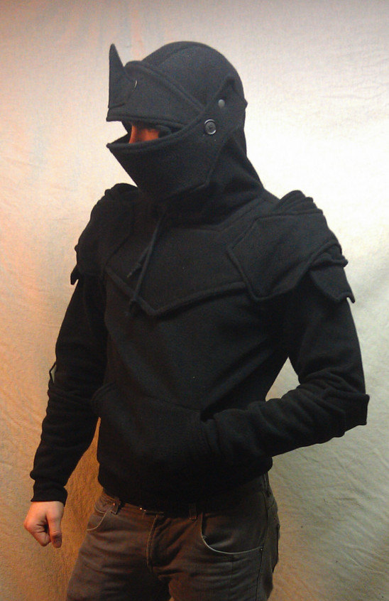 Dread Knight Armored Hoodie Size Small by SOFworks on Etsy