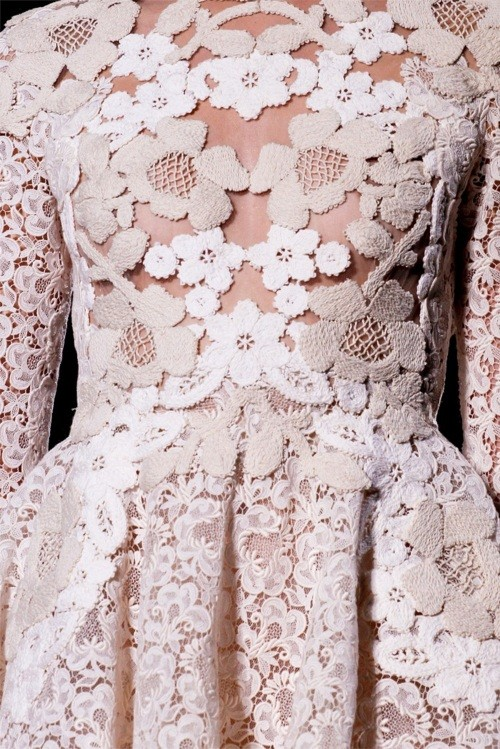Weddings / Valentino Haute Couture SS 2012. paris fashion week.