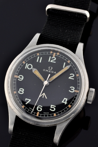 Omega British military watch @ WatchesToBuy.com