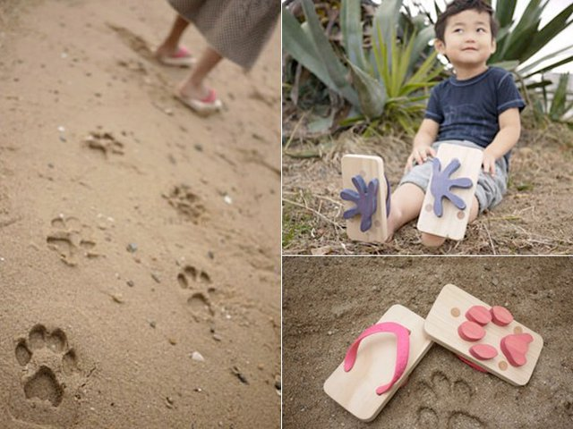 Fancy - Kiko Kids Ashiato Footprint Sandals
