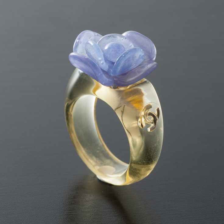 Vintage Chanel Floral Ring | JEWERY | Pinterest