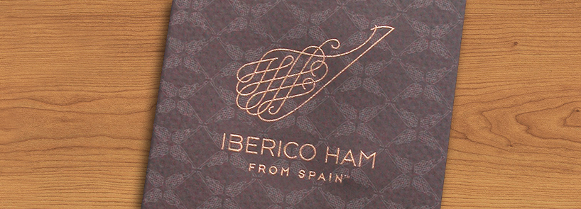 brand logo and identity for iberico ham from spain by JRDG