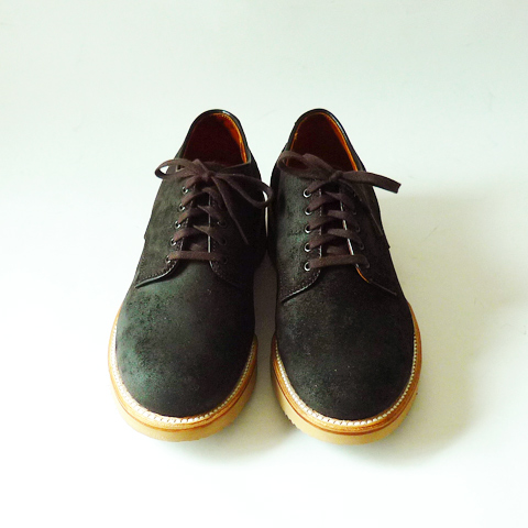 Alden Plain Toe Oxford - Earth - Silver and Gold Online Store