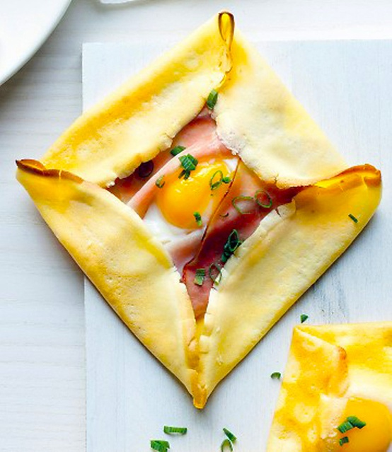 food ☆ drinkⅡ / Ham & Egg Crepe Squares