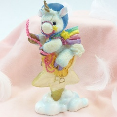 """enesco starlight starbright unicorn collection """"Hitch Your Deram To A Star""""ユニコーン フィギュア"""