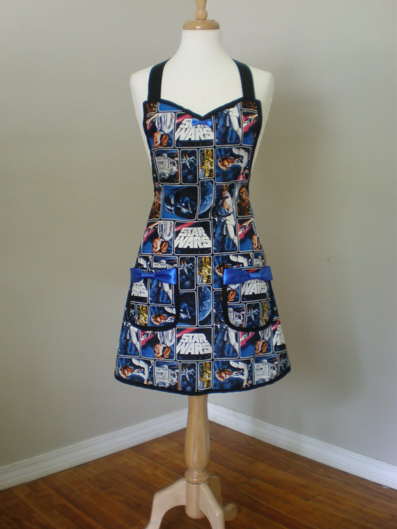 Star Wars Apron Limited Quantity by HauteMessThreads on Etsy