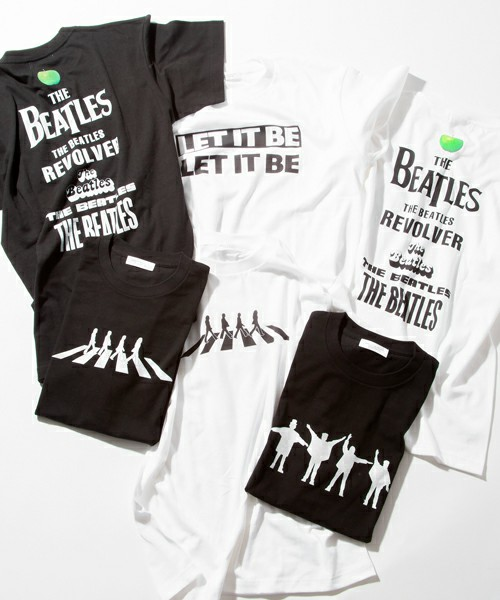 BEAUTY&YOUTH MENS / <BEATLES × BY> ∴ Abbey/Tシャツ(Tシャツ/カットソー)   ユナイテッドアローズ公式通販 -UNITED ARROWS LTD.-