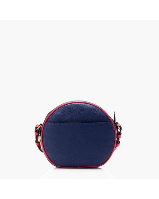 Signet circle bag in piped Italian leather : Women bags | J.Crew