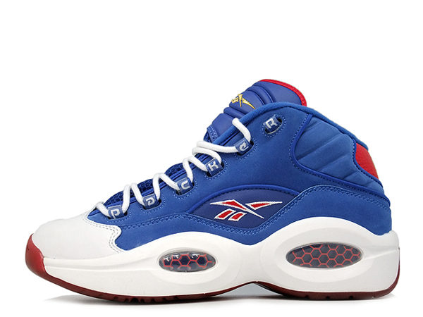 QUESTION MID 「Packer Shoes」 「LIMITED EDITION」 BLU/WHT/RED リーボック Reebok | ミタスニーカーズ|ナイキ・ニューバランス スニーカー 通販
