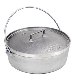 Outdoor Cookers & Grills, Cast Aluminum Dutch Oven | Campmor