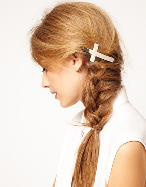 ASOS | ASOS Cross Hair Barrette at ASOS