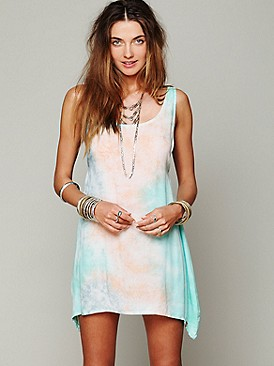 Tallow for Free People Key Largo Tie Dye Dress at Free People Clothing Boutique