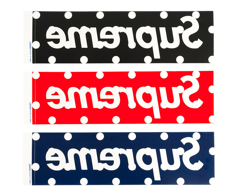 Supreme SS12 Comme Des Garcons ロゴ ステッカー 3色セット(6940070):BUYMA (バイマ)