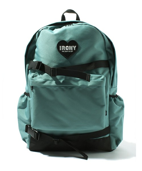 IRONY / heart patch backpack(バックパック) - ZOZOTOWN