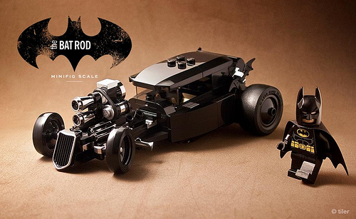 TOYSREVIL: LEGO DIY Bat Rod by Michael Choy
