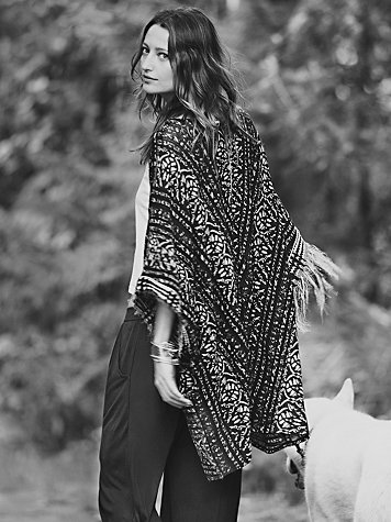 Free People Constant Conversations Kimono at Free People Clothing Boutique