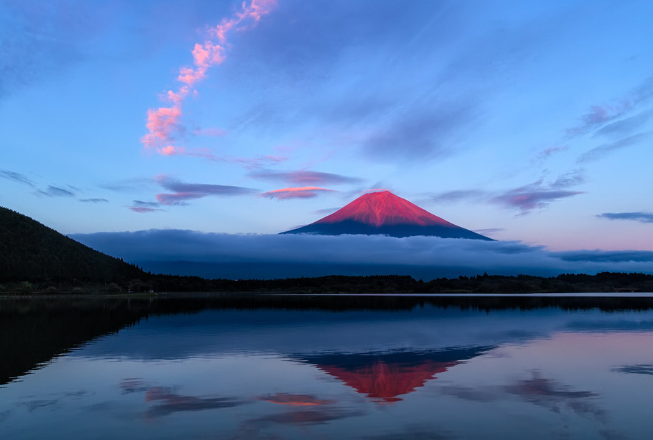 500px / The Red Fuji by Agustin Rafael Reyes