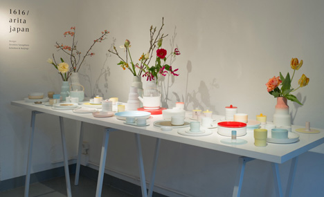 Dezeen » Blog Archive » Colour Porcelain by Scholten & Baijings for 1616 Arita Japan