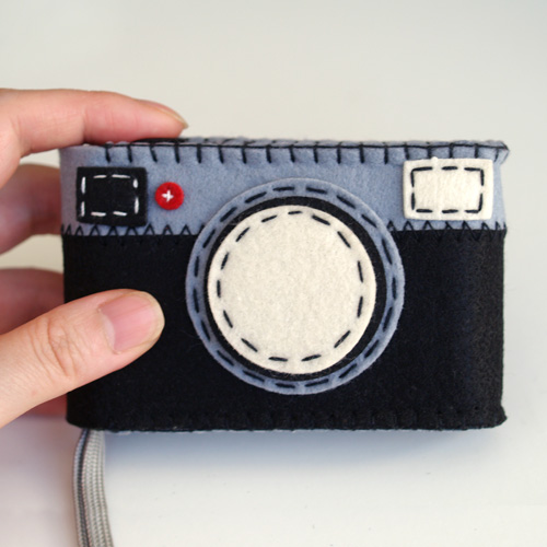 .: NOA DESIGN :. Online Shop FELT CAMERA CASE