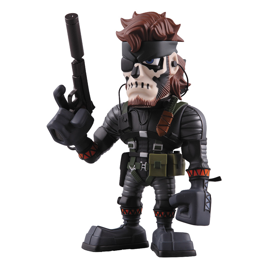 MEDICOM TOY - VCD NAKED SNAKE SNEAKING SUIT (ZOMBIE FACE PAINT ver.)