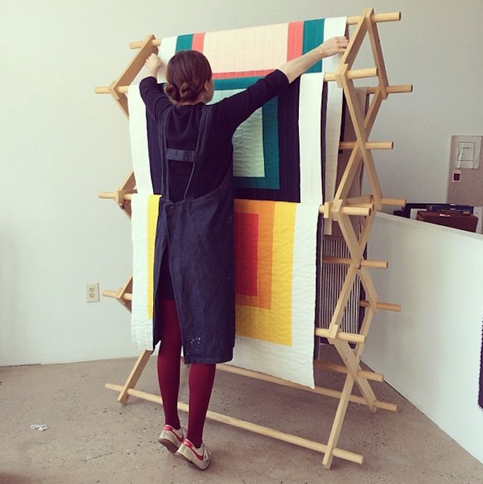 New Geometry: Quilts Designed by an Architect and a Painter