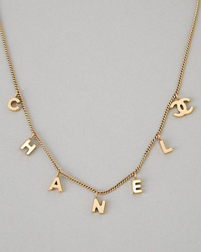 Chanel Necklace | We Heart It