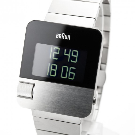 Braun Men's Prestige Digital Watch BN0106SLBTG With Stainless Steel Bracelet: Amazon.co.uk: Watches