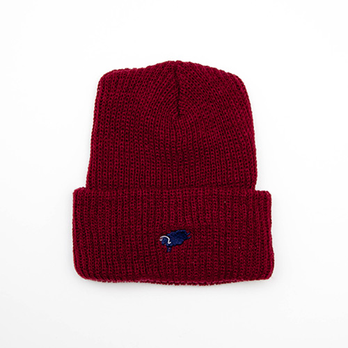 Cycle Sheep Watch Cap - Burgundy - cup and cone WEB STORE