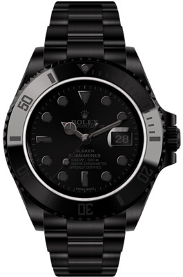 "Blaken Submariner Date ""Phantom Series"" 