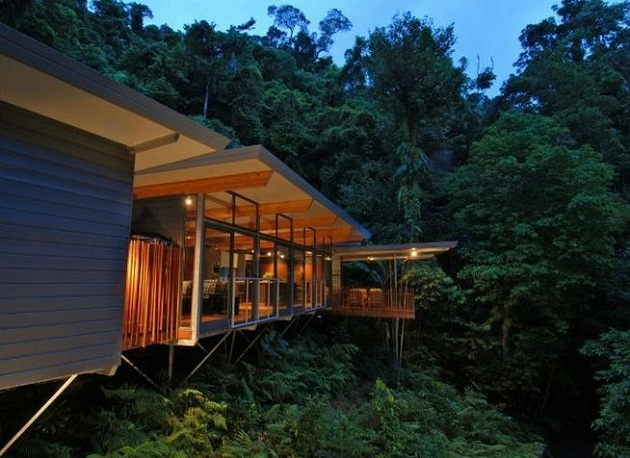 Solar Powered HP Tree House by mmp Architects | Hi Consumption