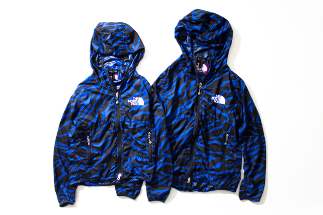 PERTEX®素材を用いた、[THE NORTH FACE PURPLE LABEL]ゼブラ柄シリーズのニューカラー。 | ITEMS | EYESCREAM.JP - For Creative Living