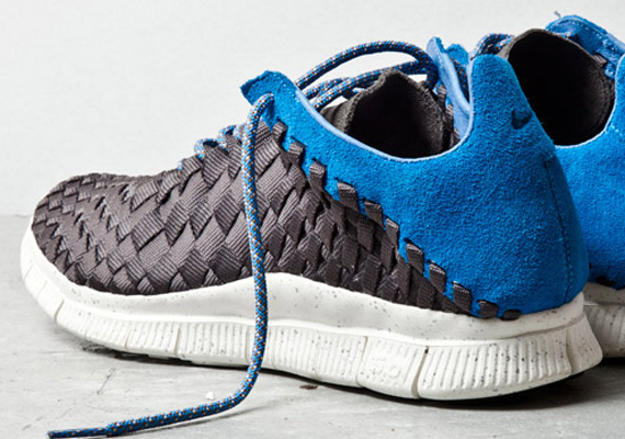 Nike Free Inneva Woven – Newsprint – Blue | SneakerNews.com