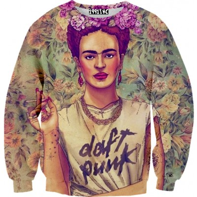 ☮♡ Frida Daft Punk Sweater ✞☆