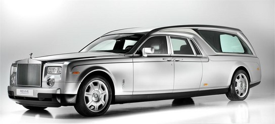Rolls Royce Phantom Hearse For A Perfect Funeral