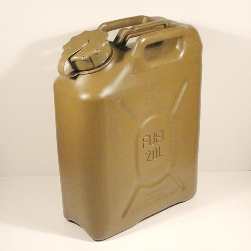 New Scepter US Military Fuel Canister (MFC) Surplus Jerry Can 20 Liter | eBay